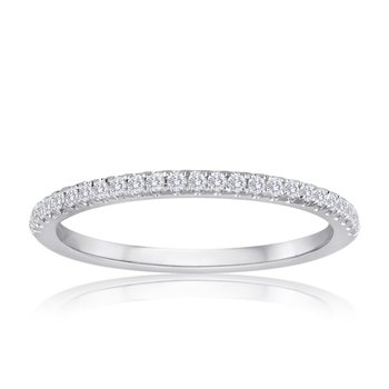 .17 CTW Diamond Band in White Gold