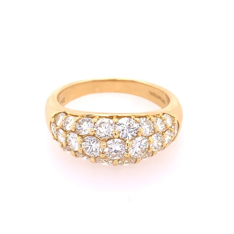 Perry's Estate Collection Vintage Diamond Band in Yellow Gold by Tiffany & Co.