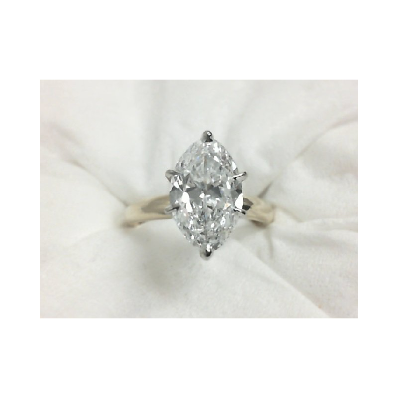 Perry's Estate Collection 2.27 Carat Marquise Cut Diamond Solitaire in Yellow Gold