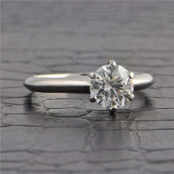 1.26 ct. D-VS2 Round Brilliant Cut Diamond Engagement Ring by Tiffany & Co.