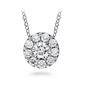 2.17 CTW. Diamond Fulfillment Pendant in White Gold
