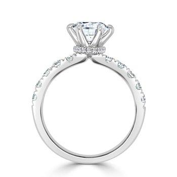 Diamond Semi Mount for Round Diamond