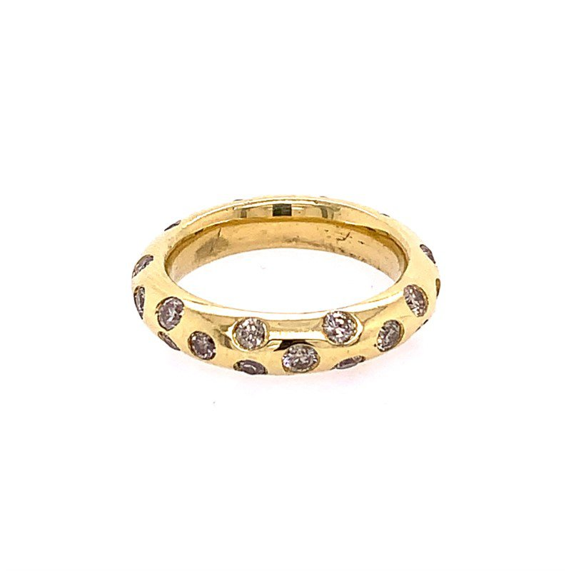 Perry's Estate Collection Yellow Gold Diamond Band