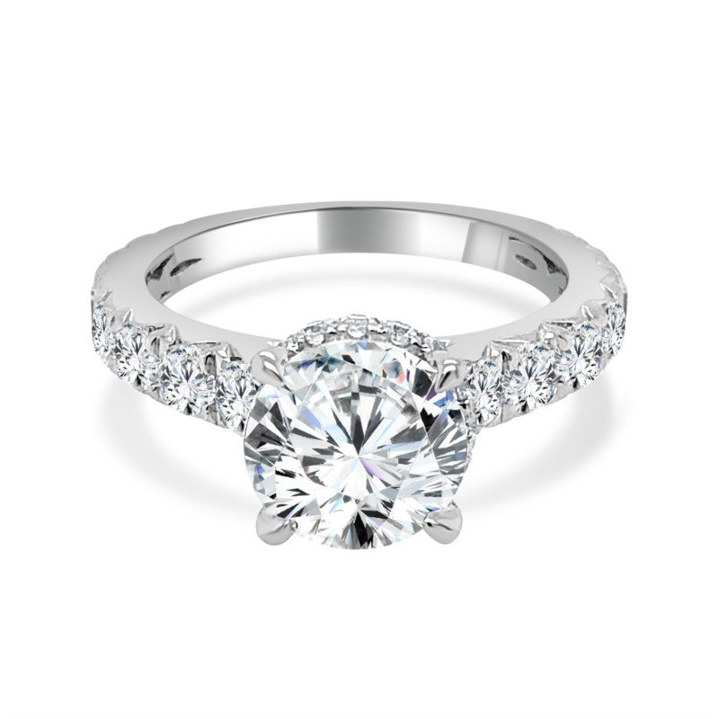 Imagine Bridal Semi Mount for Round Diamond