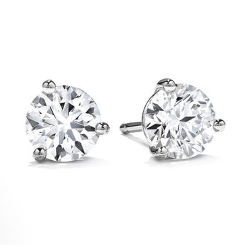 .78 CTW Diamond Stud Earrings
