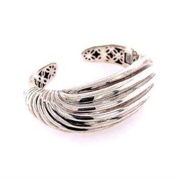 David Yurman Sculpted Cuff Bangle in Sterling Silver
