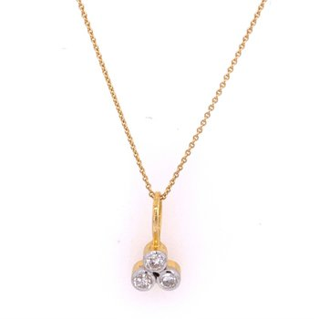 Diamond Necklace in 18k Gold