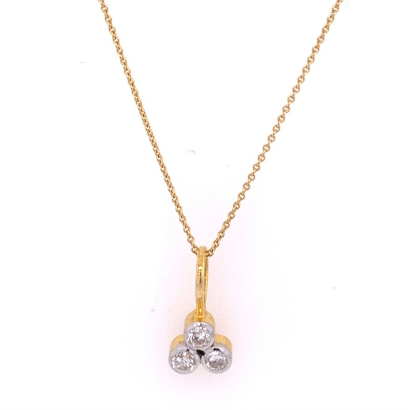 Jewel Couture Diamond Necklace in 18k Gold