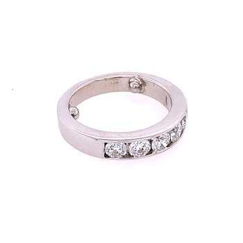 .75 CTW Diamond Band in White Gold