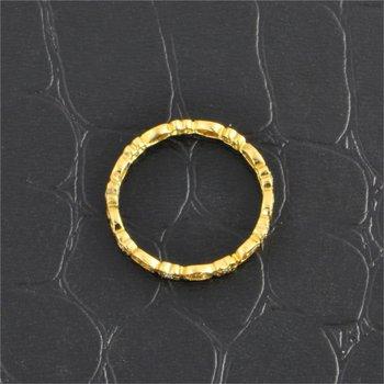 Yellow Gold Openwork Filigree Wedding Band