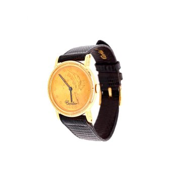 Cartier Vintage 1970s $5 Liberty Coin Watch