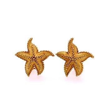 Starfish Earrings by Tiffany & Co. in 18k Gold