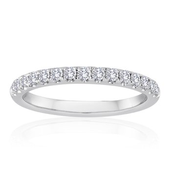 .50 CTW Diamond Eternity Band in White Gold