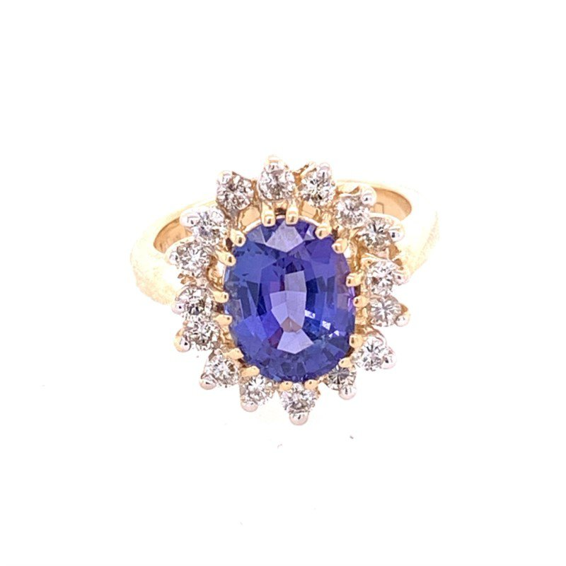 Perry's Estate Collection Tanzanite and Diamond Ring by Levian