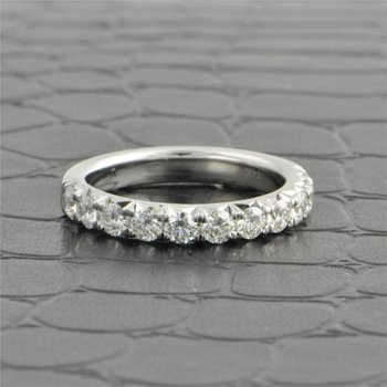 1.0 Carat Total Weight Diamond Wedding Band