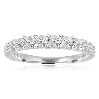 .33 CTW Diamond Band in White Gold
