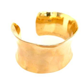 Handmade 18k Gold Cuff Bangle