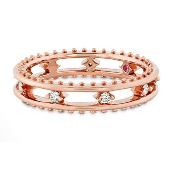Hearts on Fire Sloane Picot Floating Diamond Band
