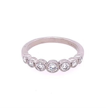 Tiffany & Co. Diamond Band in Platinum ca. 2004