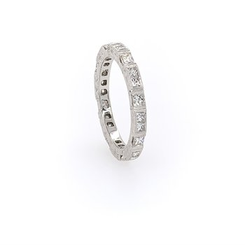 Unique Diamond Wedding Band