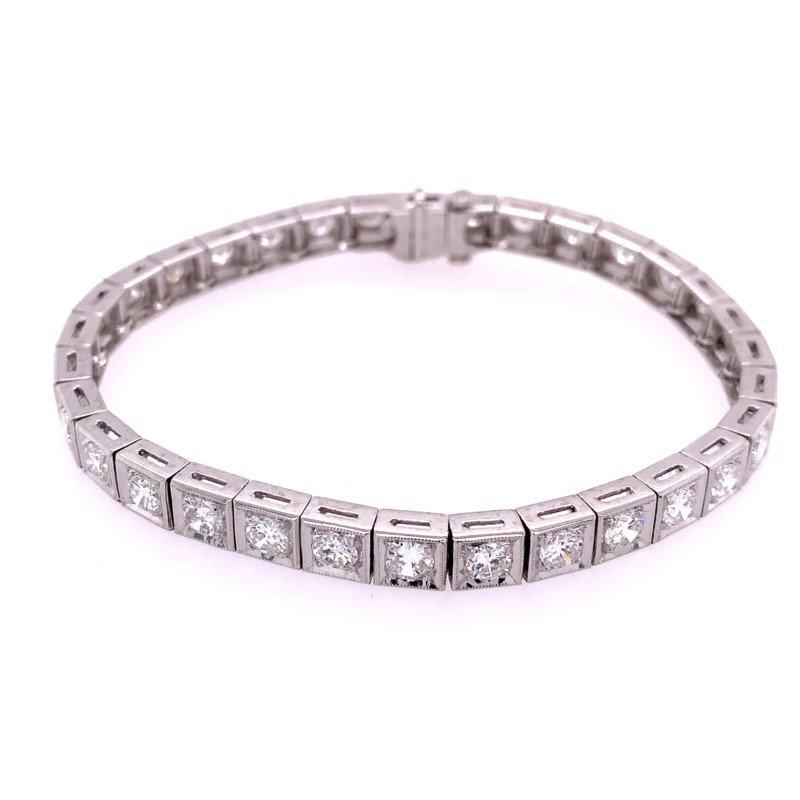 Perry's Estate Collection Diamond Bracelet in Platinum