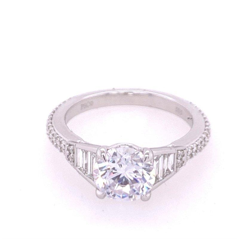 Peter Storm Diamond Semi Mount in White Gold