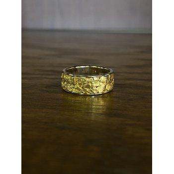 Natural Gold Nugget Band