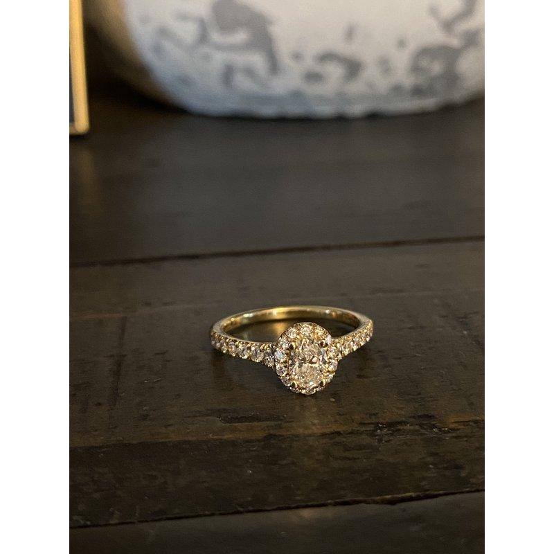 Custom Designs Oval Engagement Ring