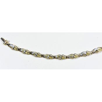 Gold Quartz Bracelet