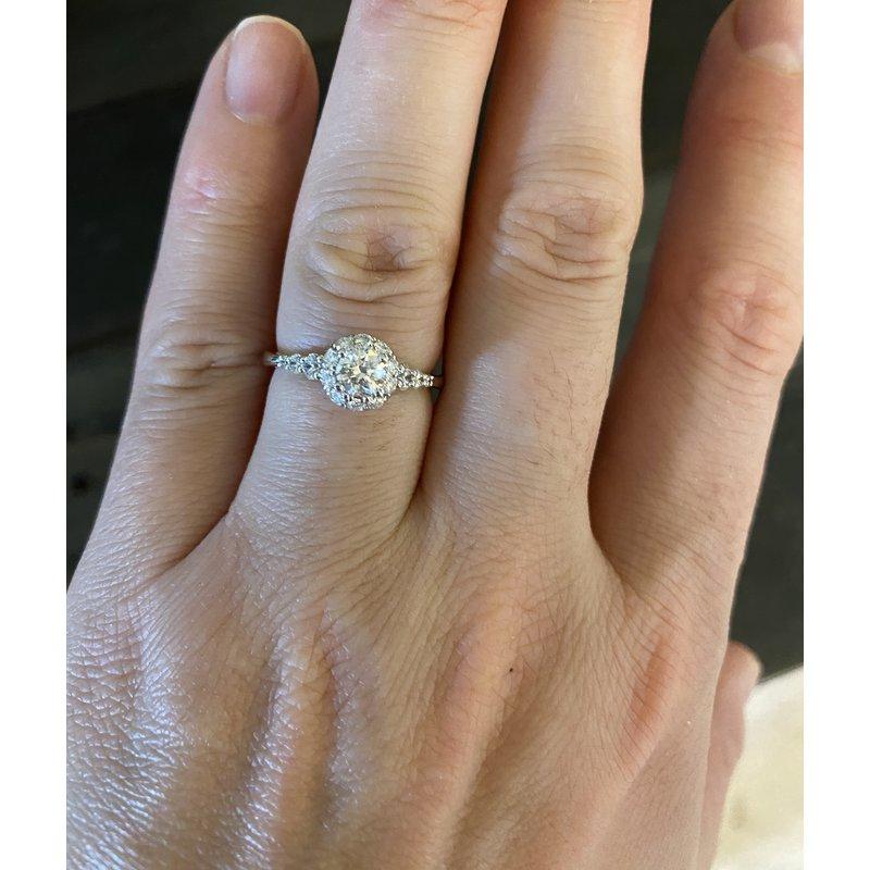 Custom Designs Round Engagement Ring
