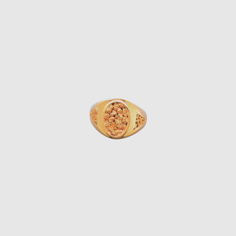 Alaskan Jewelry Gold Nugget Ring