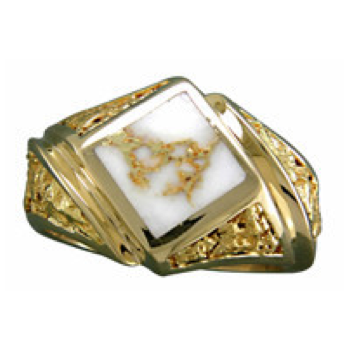 Mens Quartz Ring