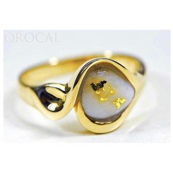 Natural Gold Quartz Ring