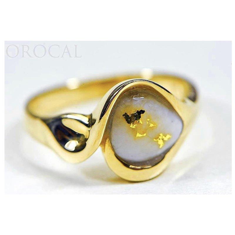 Alaskan Jewelry Natural Gold Quartz Ring