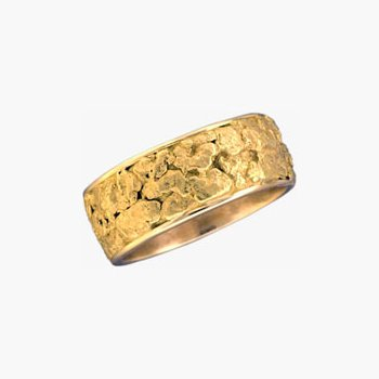 Gold Nugget Band