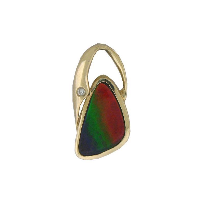 Alaskan Jewelry Ammolite Pendant