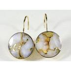Gold Quartz Jewelry Gold Quartz Leverback Earrings
