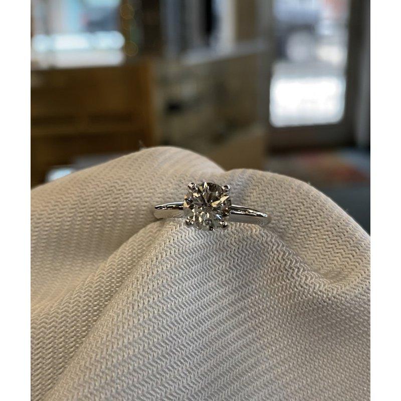 Custom Designs Solitaire Engagement Ring