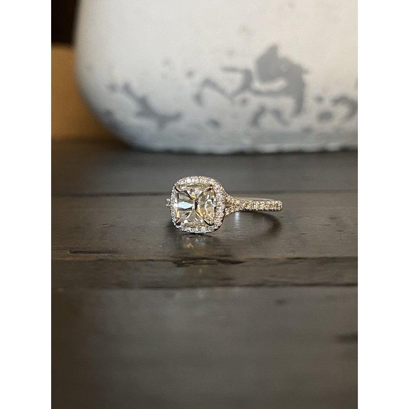 Custom Designs Henri Daussi Diamond Ring