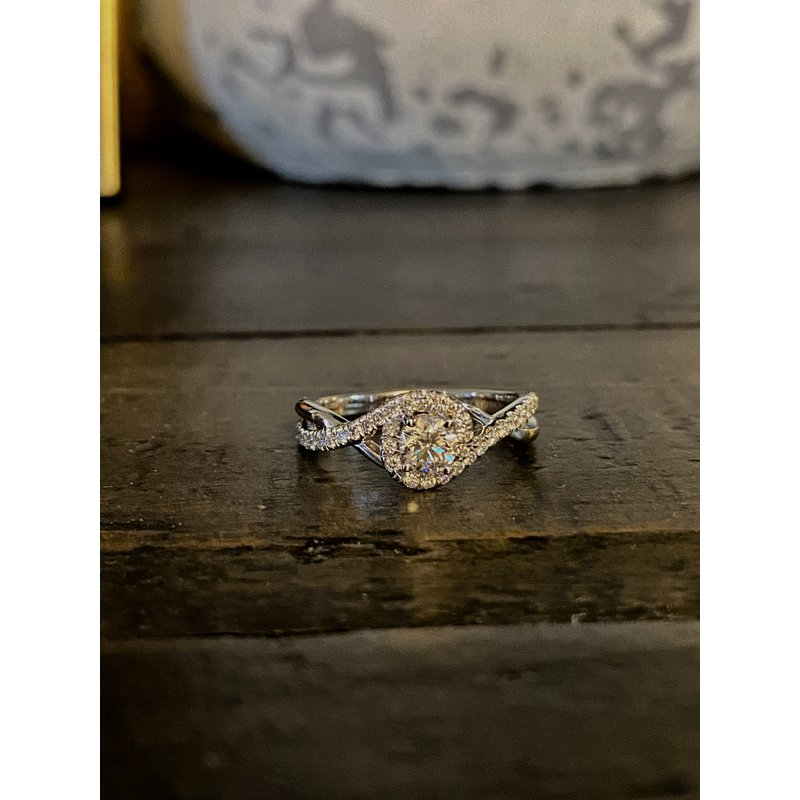 Custom Designs Twisted Engagement Ring
