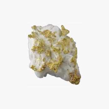 Gold Quartz Specimen