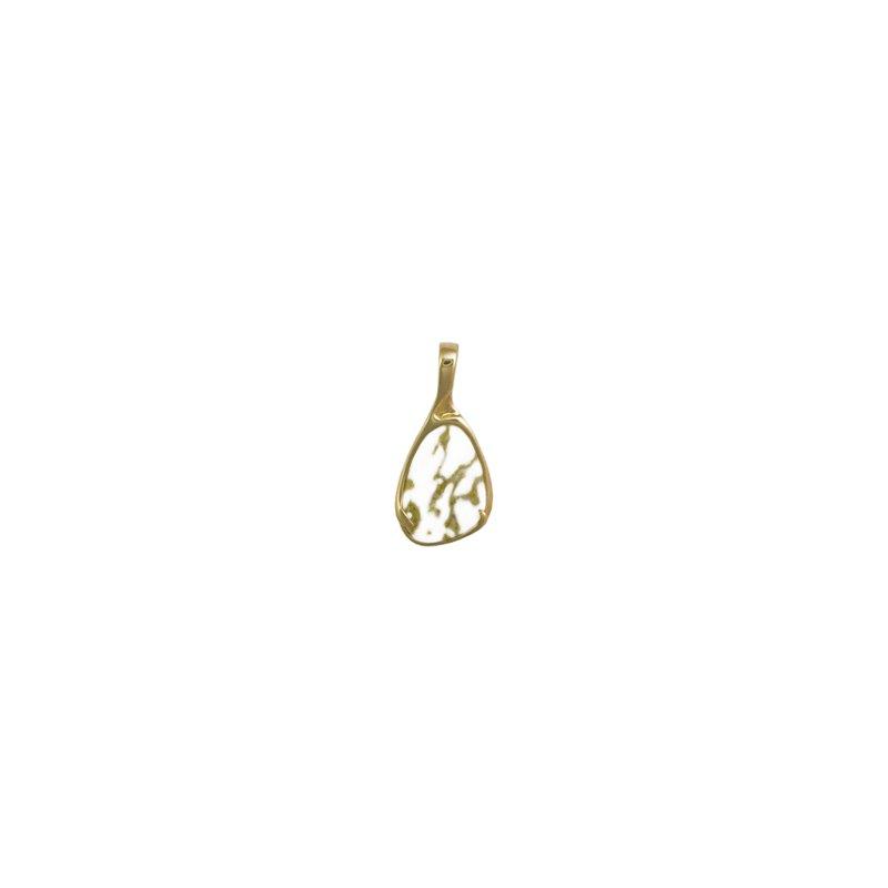 Alaskan Jewelry Gold Quartz Pendant