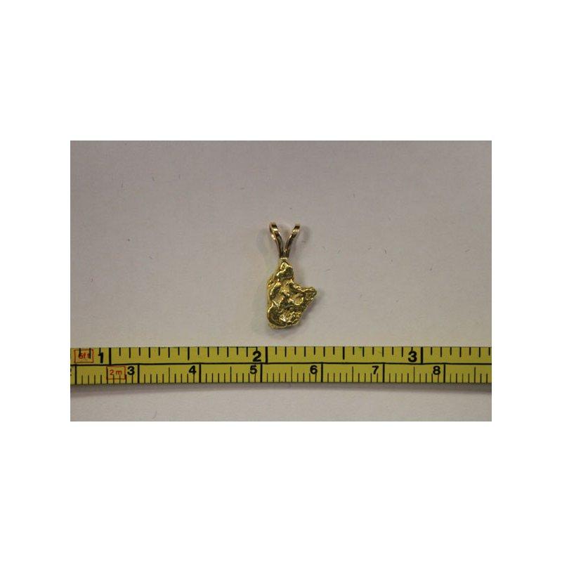 Alaskan Jewelry Natural Gold Nugget