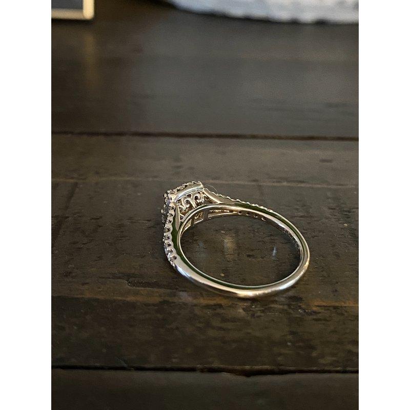 Custom Designs Princess Engagement Ring