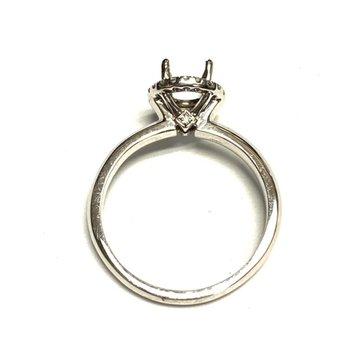 Diamond Halo Ring Mounting