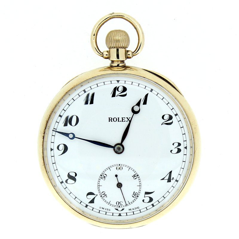 Pre-owned Rolex Rolex Pocket Watch 7 World Records