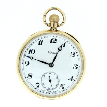 Rolex Pocket Watch 7 World Records