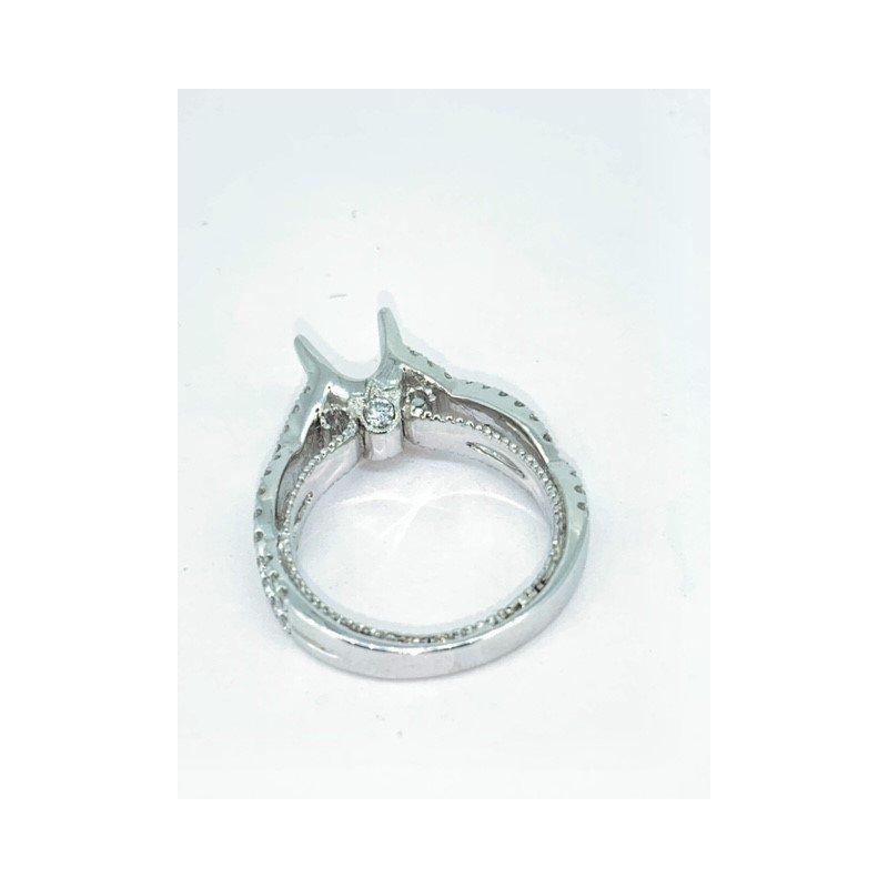 Decor Crossover Diamond Ring Mounting