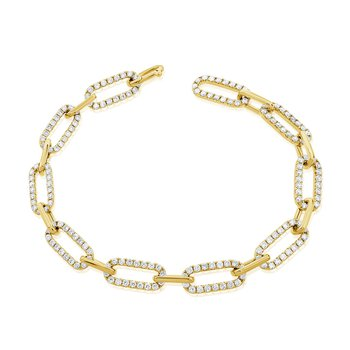 2.53ctw Diamond Open Link Bracelet