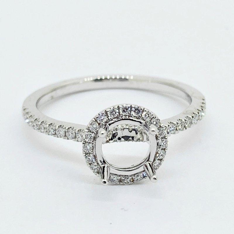Decor Round Halo Ring Mounting